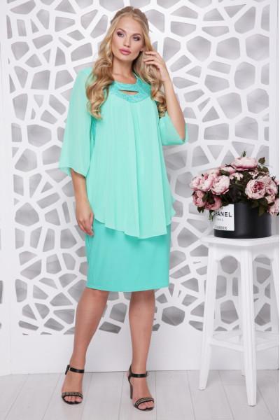 Сукня «Афіна» м'ятного кольору