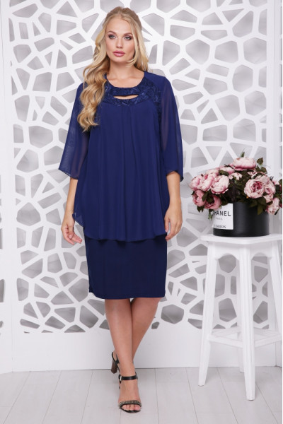 Сукня «Афіна» синього кольору