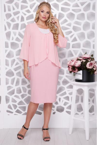 Сукня «Мелодія» персикового кольору