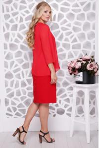 Сукня «Афелія» червоного кольору