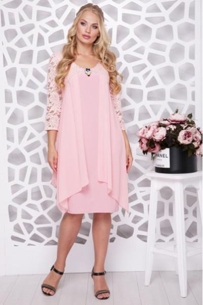 Сукня «Роза» персикового кольору