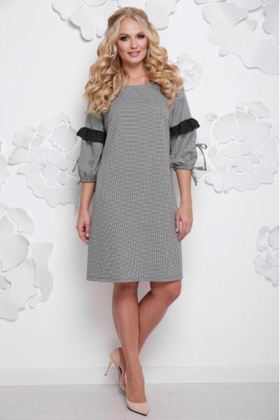 Сукня «Моніка» сірого кольору
