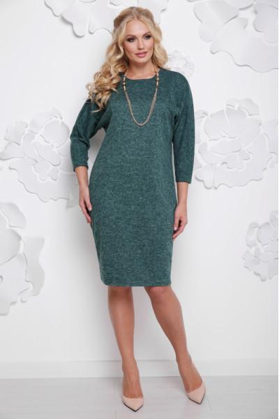 Сукня «Арабіка» зеленого кольору