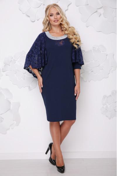 Сукня «Мілана» синього кольору