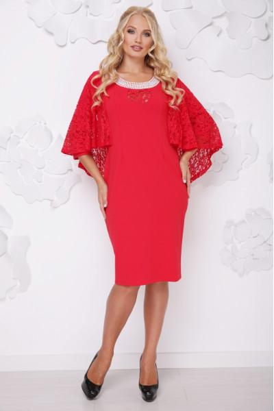 Сукня «Мілана» світло-червоного кольору