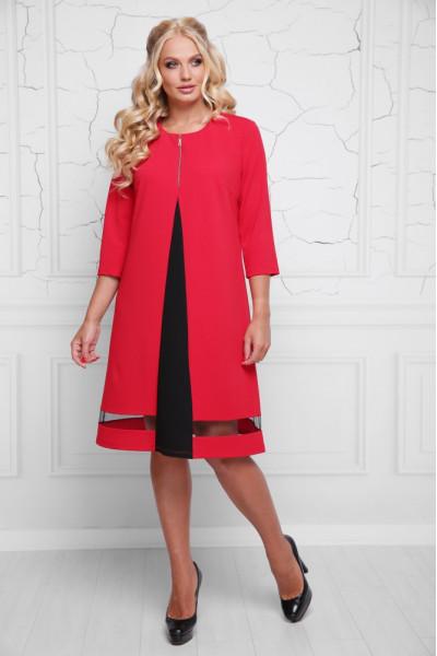 Сукня «Кайлі» червоного кольору