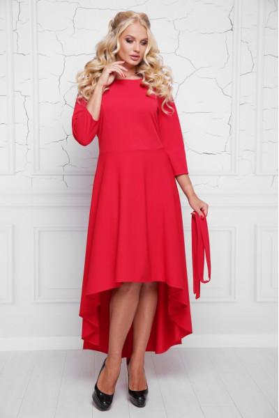 Сукня «Магія» червоного кольору