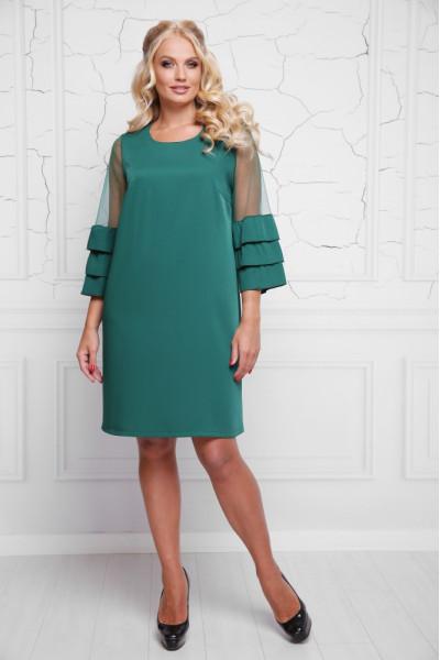 Сукня «Індиго» зеленого кольору