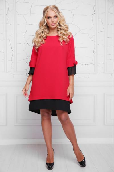 Сукня «Стела» червоного кольору