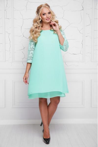 Сукня «Альба» кольору м'яти