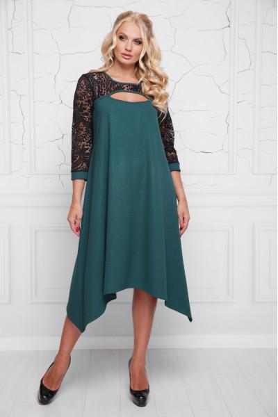 Сукня «Анабель» зеленого кольору
