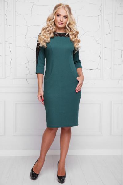 Сукня «Діамант» зеленого кольору