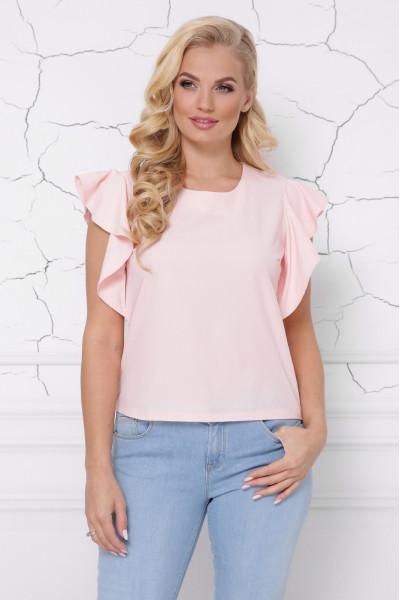 Блуза «Інга» персикового кольору