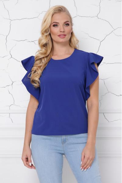 Блуза «Інга» кольору електрик