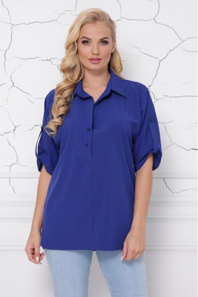 Блуза «Жозі» кольору електрик