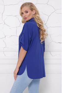Блуза «Жози» цвета электрик