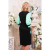 Сукня «Секрет» чорна з м'ятним