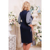Сукня «Ілюзія» синього кольору