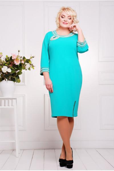 Сукня «Міраж» бірюзового кольору