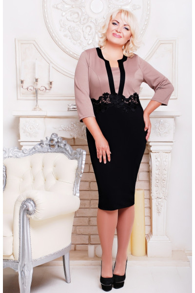 Сукня «Анжеліка» бежевого кольору