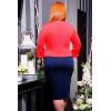Сукня «Поліна» коралового кольору