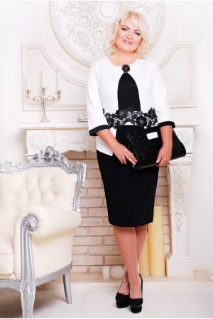 Сукня «Лотос» білого  кольору