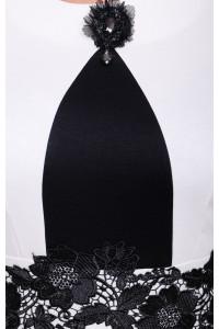 Платье «Лотос» белого цвета