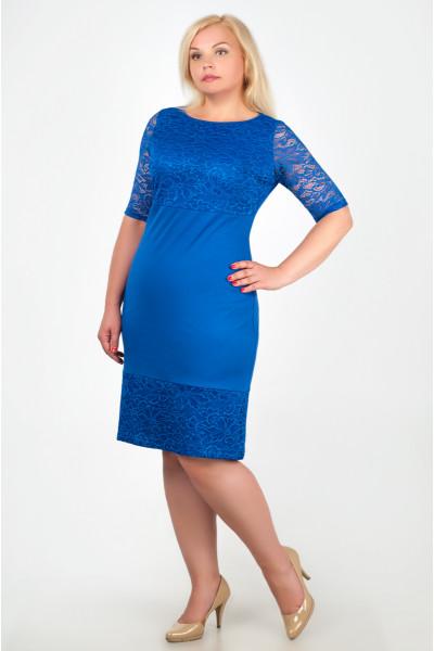Сукня «Жаклін» кольору електрик