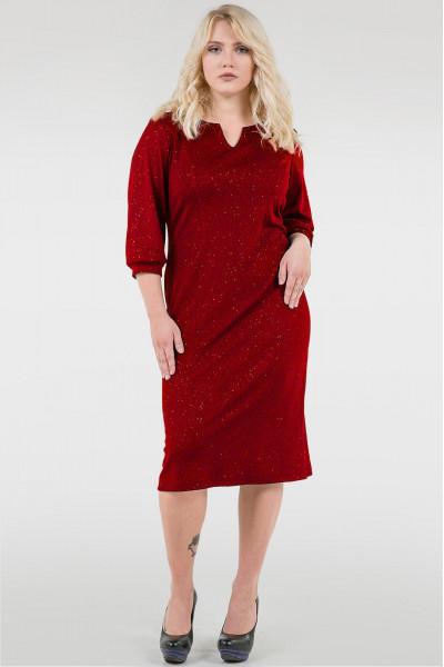 Сукня «Фьюрі» червоного кольору