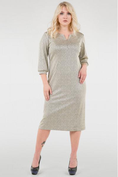 Сукня «Фьюрі» золотистого кольору