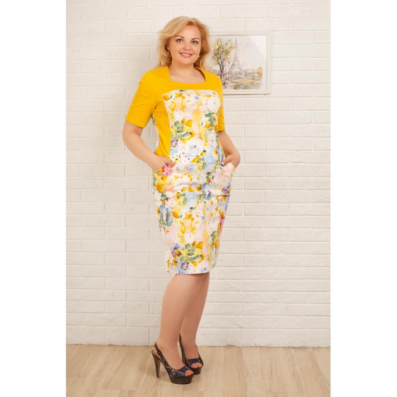 Сукня «Саллі» жовтого кольору – купити в Києві 2290fd13d09f4