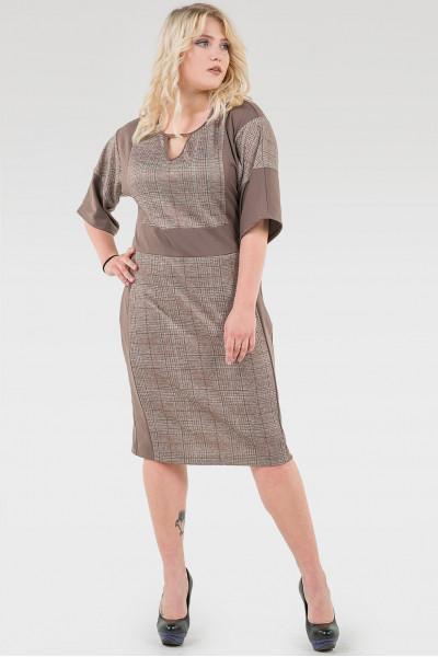Сукня «Агнія» кольору капучино