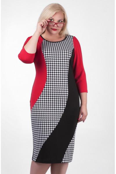 Сукня «Орсола» червоного кольору