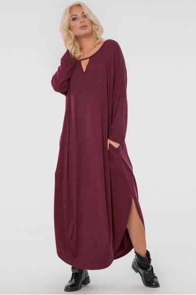 Сукня «Ніколь» бордова