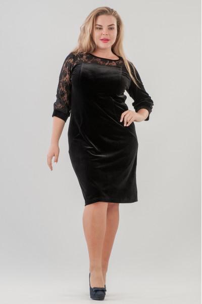 Сукня «Фрайд» чорного кольору