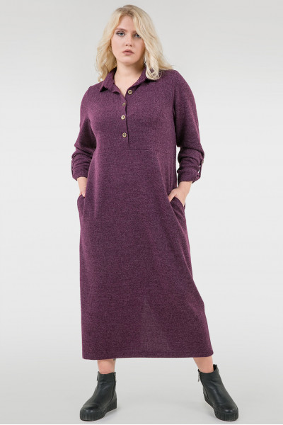 Сукня-сорочка «Кадіс» фіолетового кольору