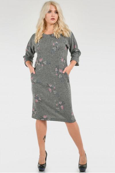 Сукня «Адора» сірого кольору