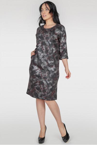 Сукня «Адора» темно-сірий тон