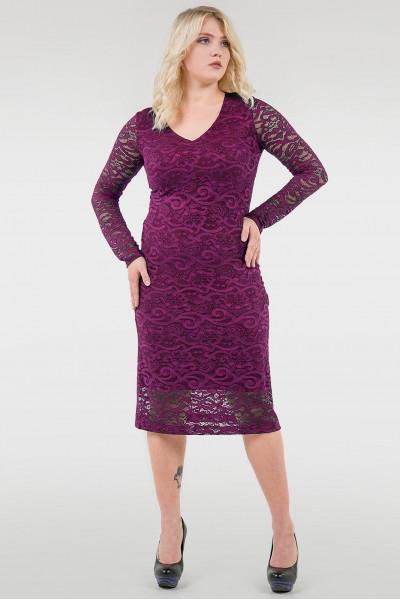 Сукня «Гаріет» кольору фуксії