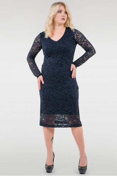 Сукня «Гаріет» темно-синього кольору