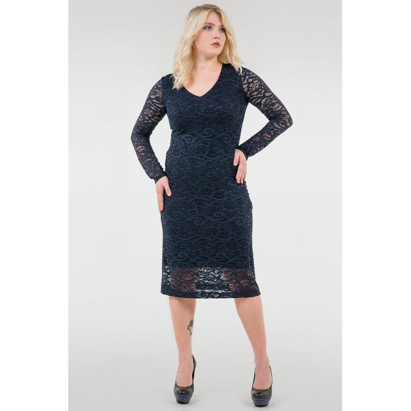 381b6d31d0d Сукня «Гаріет» темно-синього кольору – купити в Києві