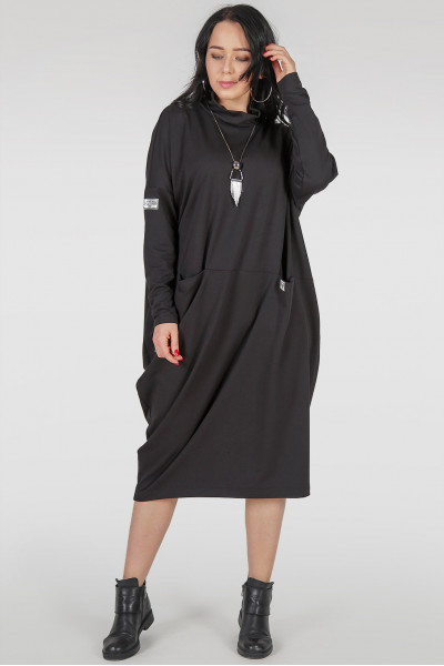Сукня «Кліон» чорного кольору