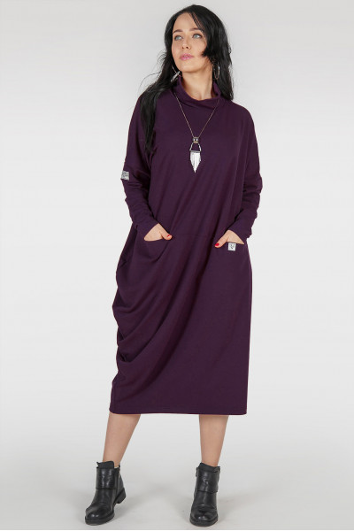 Сукня «Кліон» кольору марсала