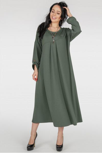 Сукня «Калхіда» кольору хакі