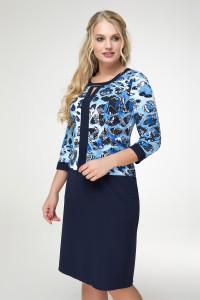 Сукня «Індія» синього кольору