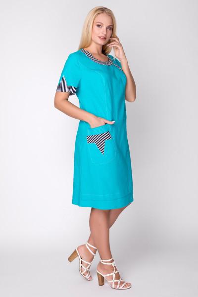 Сукня «Сусанна» бірюзового кольору