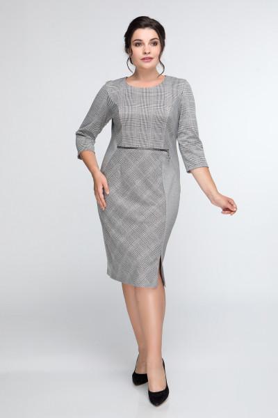 Сукня «Ліза» сірого кольору