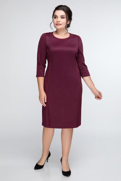 Сукня «Наталі» бордового кольору