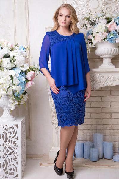Сукня «Габріелла» кольору електрик
