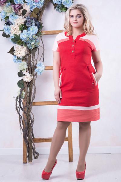 Сукня «Марта» червоного кольору